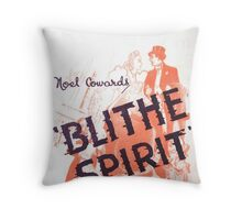 "Day 178 | 365 Day Creative Project  ""Blithe Spirit"" Throw Pillow"