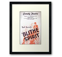 """Day 178   365 Day Creative Project  """"Blithe Spirit"""" Framed Print"""