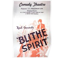 "Day 178 | 365 Day Creative Project  ""Blithe Spirit"" Poster"