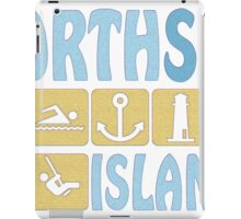 NORTH SEA ISLAND iPad Case/Skin