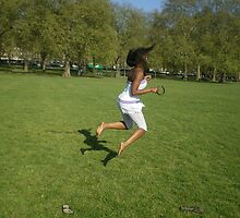 London Hyde Park by Maybe