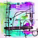 Cimetière des Chiens Playground 2 Pink by Jenny Davis