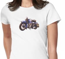 1948 Panhead Womens Fitted T-Shirt