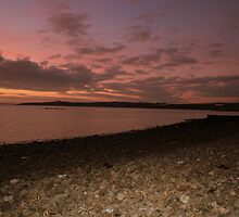 Sunset at Moneypoint by John Quinn