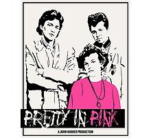 Pretty in Pink - Beige Photographic Print