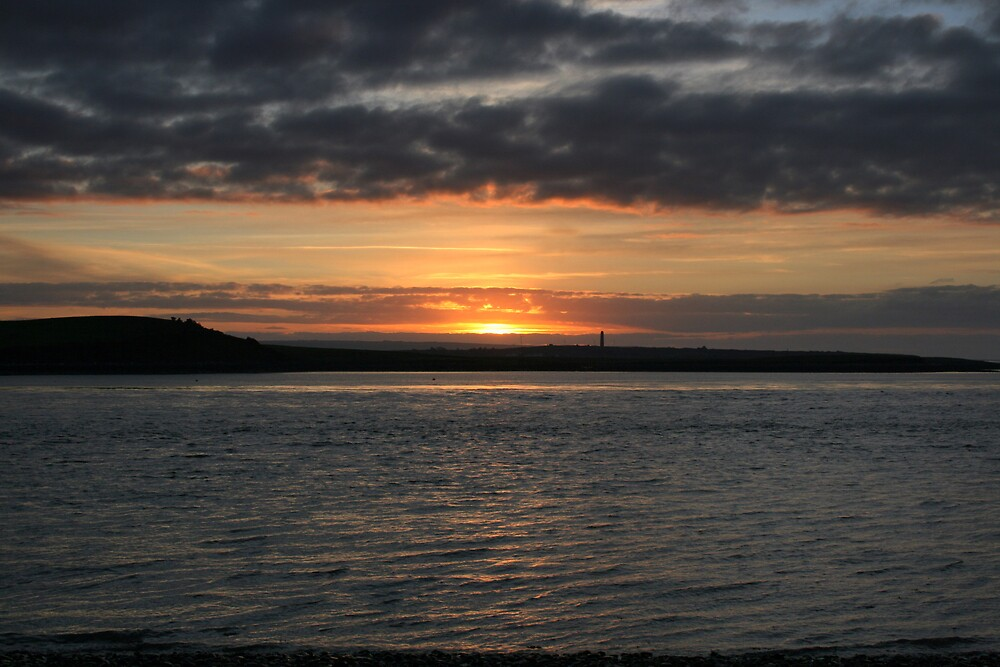 Scattery Island sunset by John Quinn