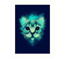 Cosmic Cat Art Print