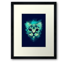 Cosmic Cat Framed Print