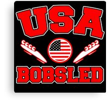 USA BOBSLED Canvas Print