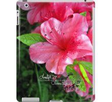 azalea blossum iPad Case/Skin