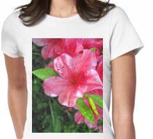 azalea blossum Womens Fitted T-Shirt