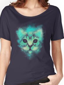 Cosmic Cat Women's Relaxed Fit T-Shirt