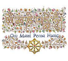 Om Mani Pema Hung Photographic Print