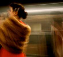 New York Subway Rider #3 by RonnieGinnever