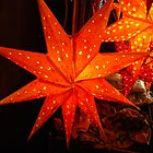 Orange stars by Nancy Huenergardt