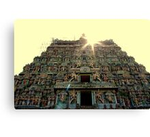 Gopuram Canvas Print