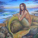 Dusk Mermaid by dashinvaine