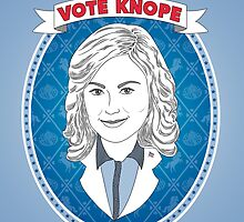 Vote Knope by geeksweetie