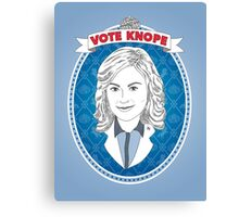 Vote Knope Canvas Print
