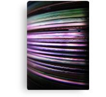 Colour Me Purple Canvas Print