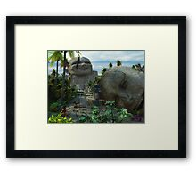 1_ Valley of the Laughing Gods Framed Print