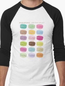 Which macaron are you? Men's Baseball ¾ T-Shirt