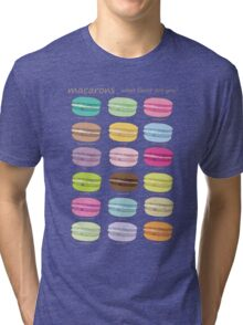 Which macaron are you? Tri-blend T-Shirt