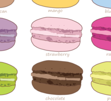 Which macaron are you? Sticker