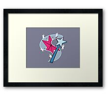 Twilight and Trixie - Cutie Mark Combination Framed Print