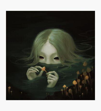 swamp girl lurking Photographic Print