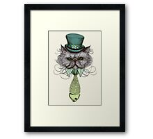Not Your Average Cat Framed Print