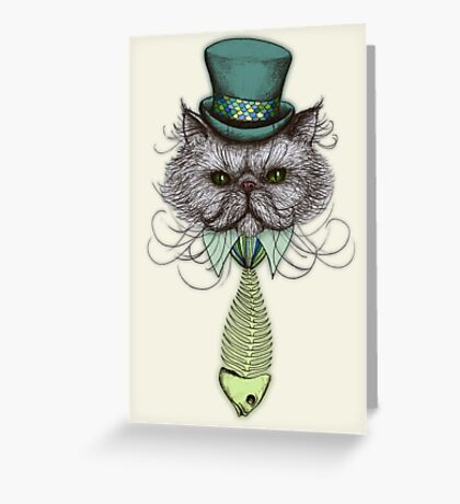 Not Your Average Cat Greeting Card
