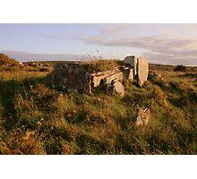 Burren Wedge Tomb Photographic Print