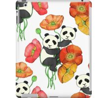 Poppies & Pandas iPad Case/Skin