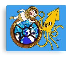 Ice Nemo !!! Canvas Print