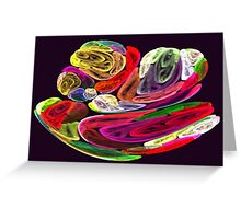 Apophysis Fractal 15 Greeting Card