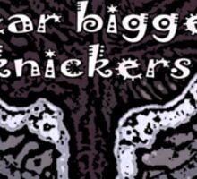 Fridge pickers wear bigger knickers! Sticker