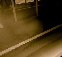 Train in Motion by Elliott Walker