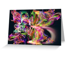 Apophysis Fractal 16 Greeting Card