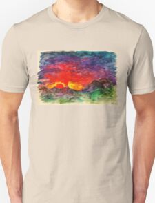 Aggressive sunset T-Shirt