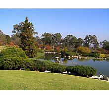 Overlooking the Japanese Gardens, Cowra, NSW Photographic Print