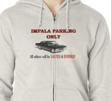 Impala Parking Only! Zipped Hoodie