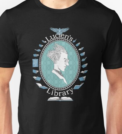 Lucien the Librarian Unisex T-Shirt