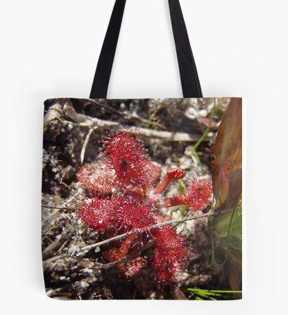 Round leaf Sundew Tote Bag