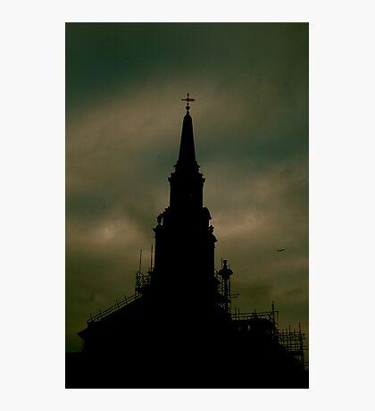 Church Skies Photographic Print