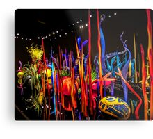 Chihuly's Blown Glass Metal Print