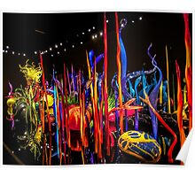 Chihuly's Blown Glass Poster