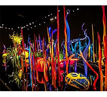 Chihuly's Blown Glass Photographic Print