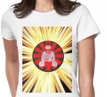 Yoga buddha 010 The Sunrays Womens Fitted T-Shirt