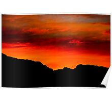 New Mexican Sunrise Poster